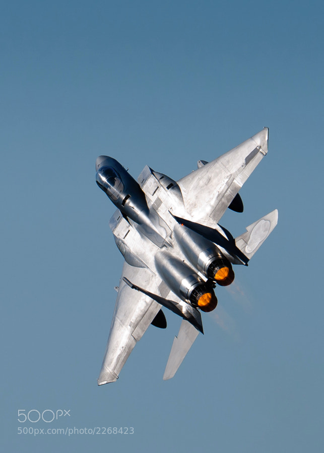 F-15C Eagle at the Great Georgia Airshow
