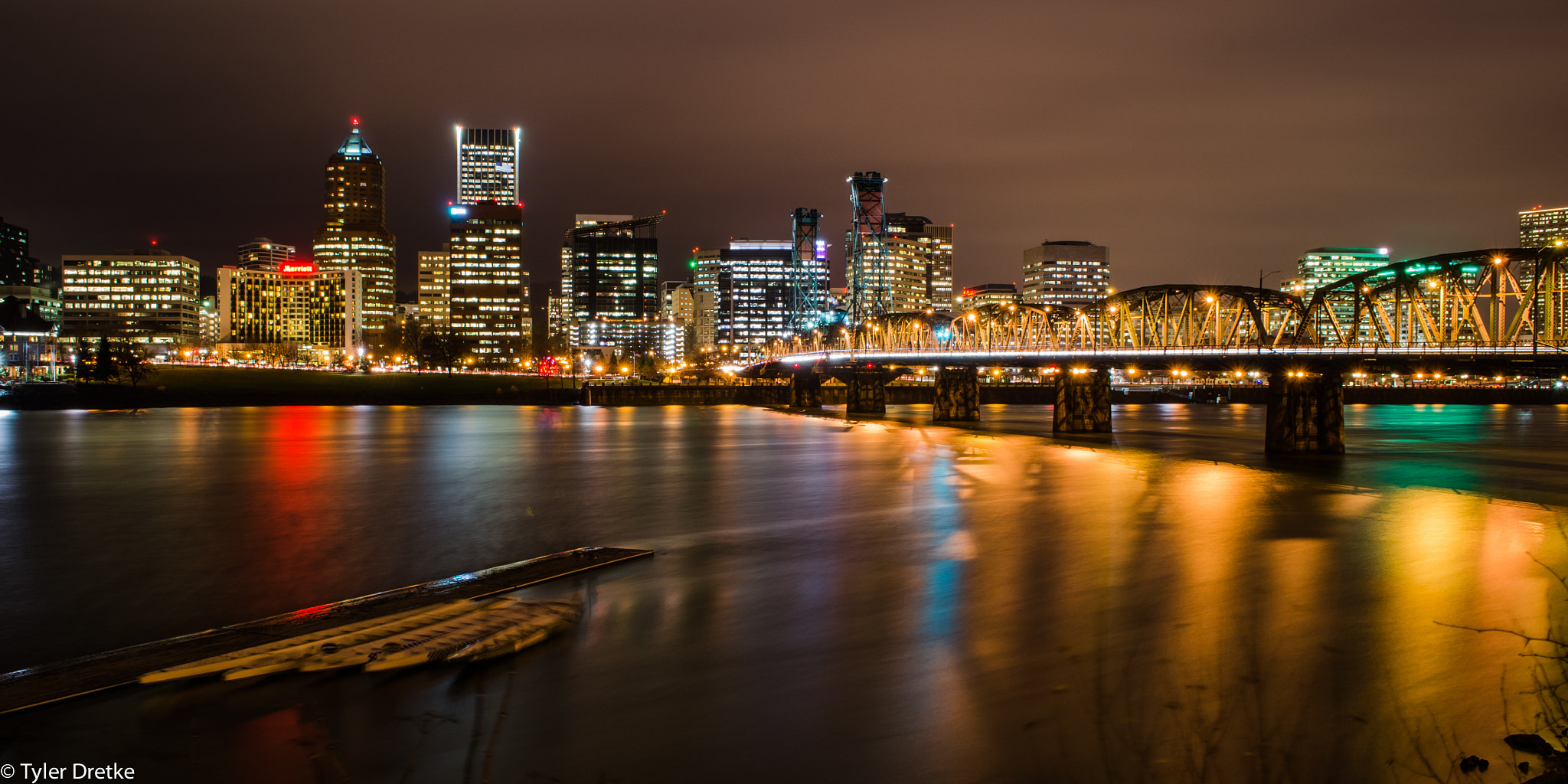 Photograph The Portland Skyline by Tyler Dretke on 500px