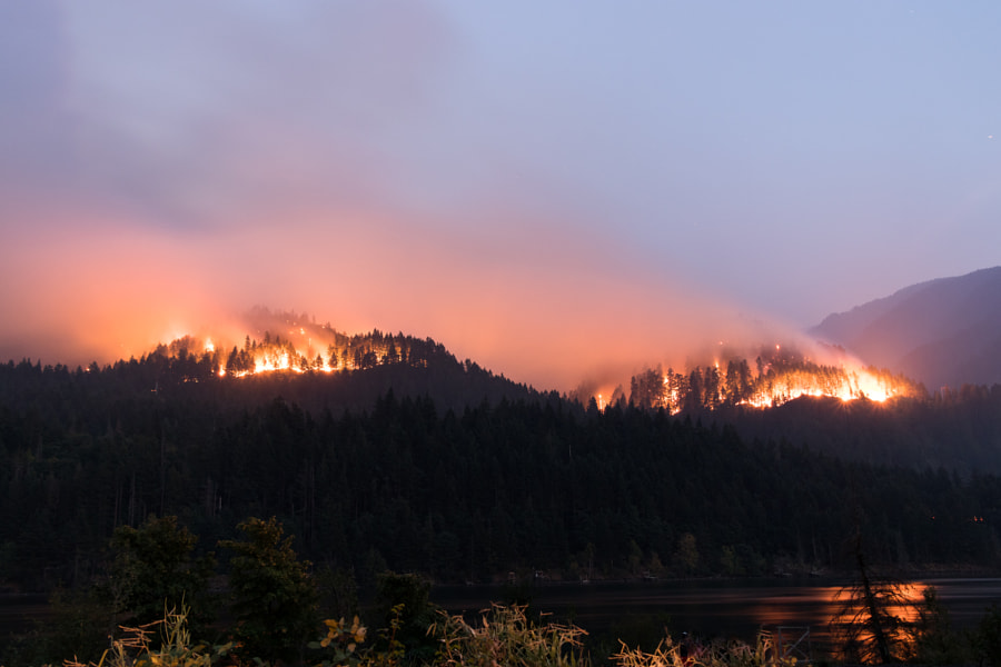 Eagle Creek Fire by Jason Clarke on 500px.com