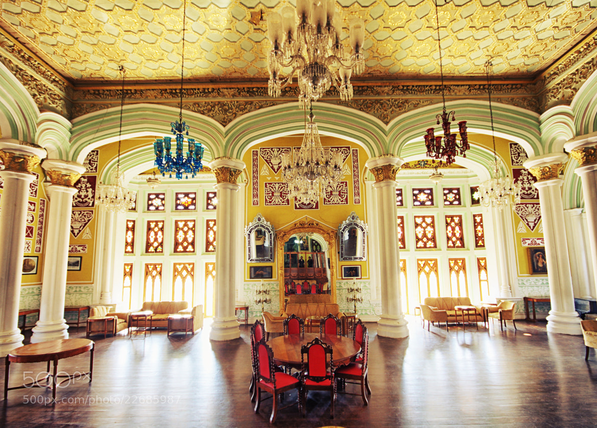 Photograph Durbar Hall Bangalore Palace  by John Paul on 500px