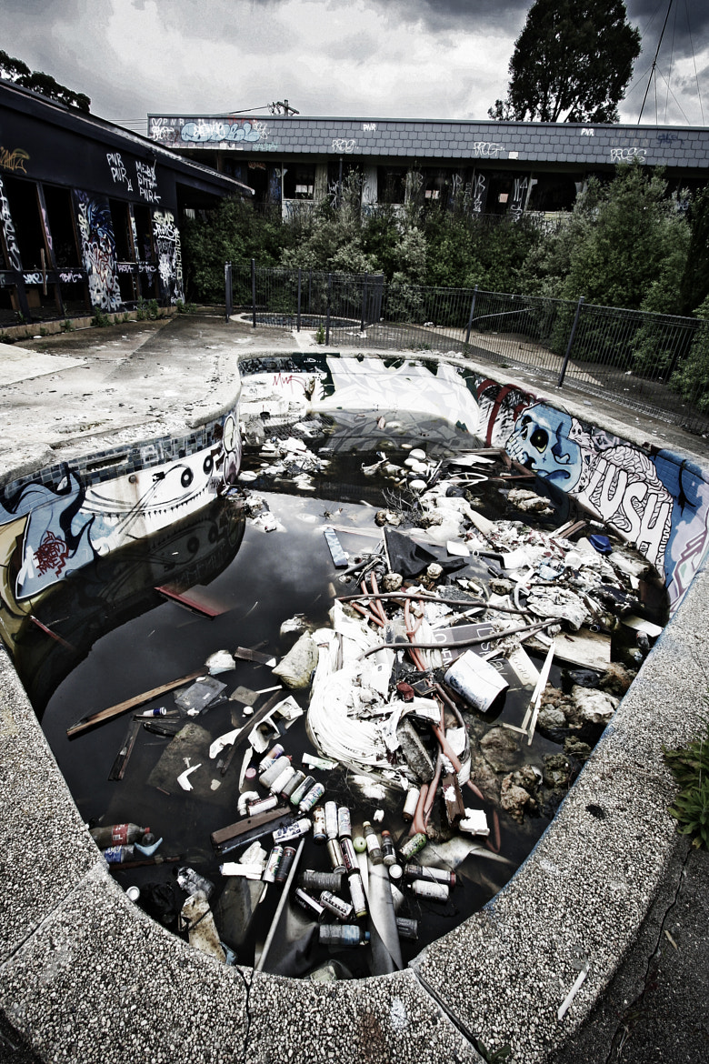 Photograph Motel Hell by Chris O'Neil on 500px