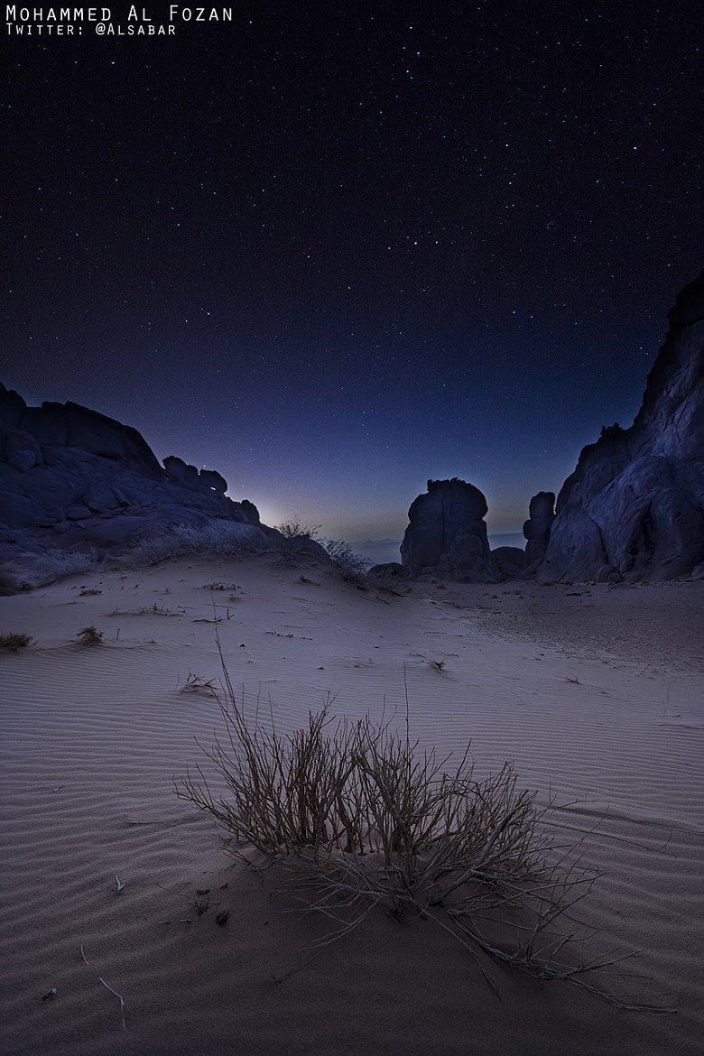 Photograph Shooting stars by Mohammed Al-Fozan on 500px