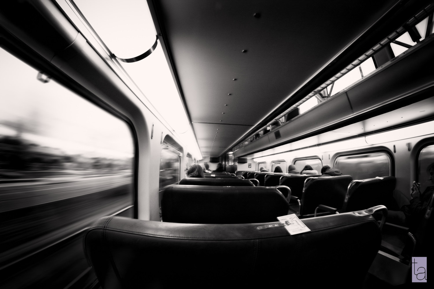 Photograph In transit of time by Tatiana Avdjiev on 500px