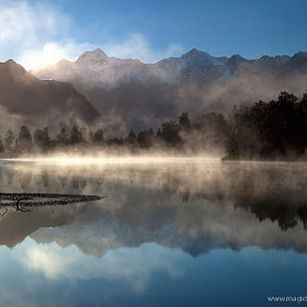 Lake Matheson Sunrise by Kah Kit Yoong (kahkityoong)) on 500px.com