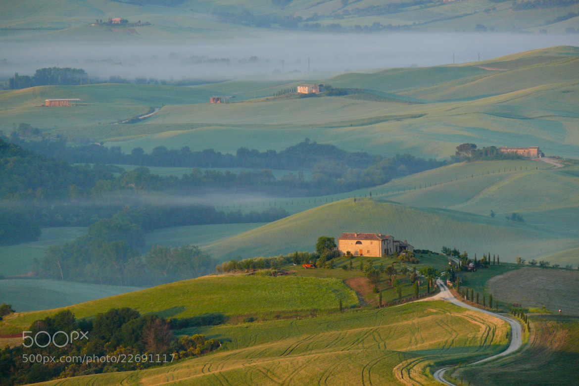 Photograph Morning in Tuscany by Tom Brichta on 500px