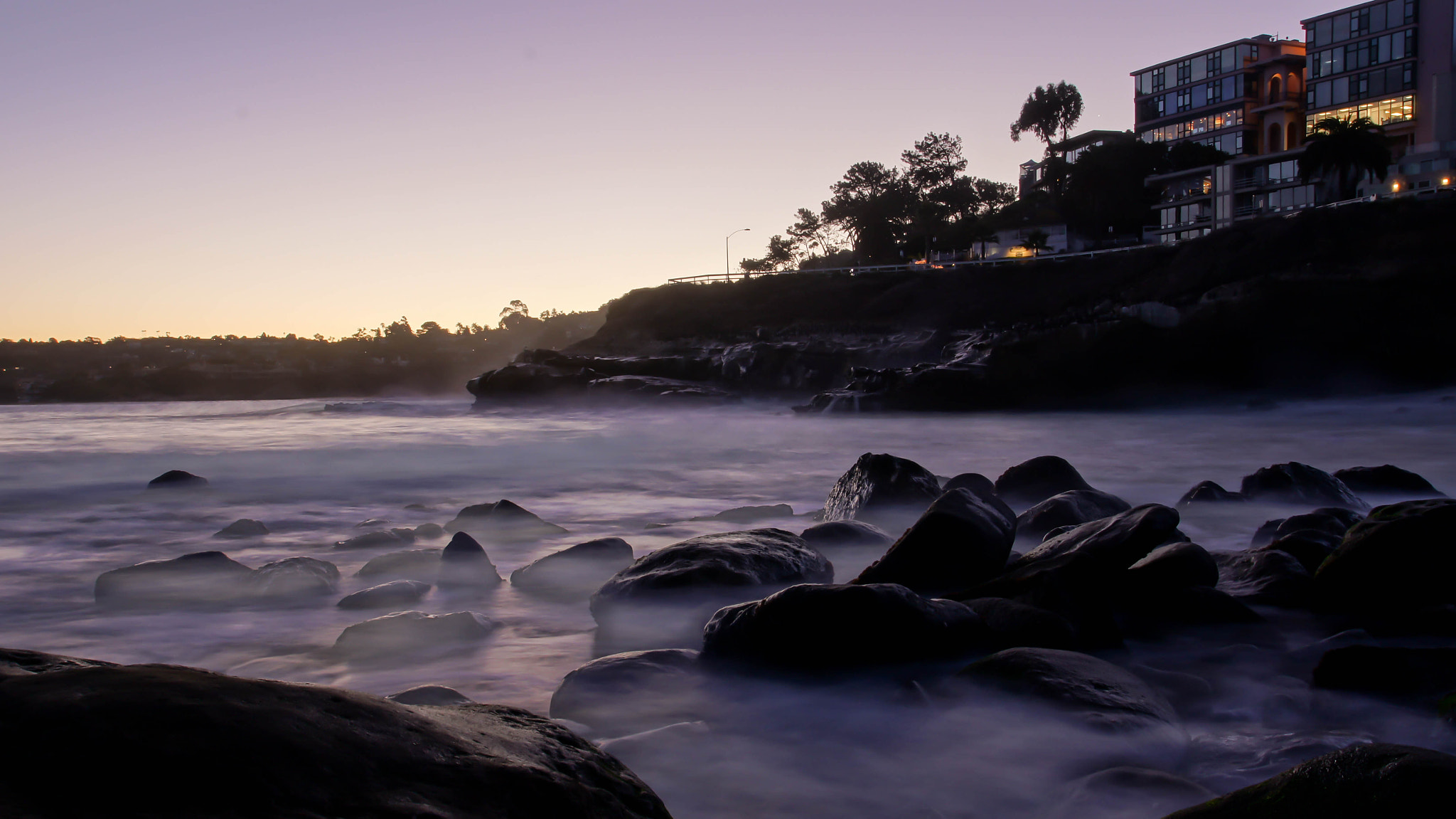 Photograph Dawn at La Jolla Cove by Erik Anderson on 500px