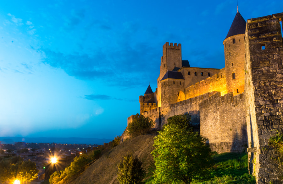 Castle of the city of Carcassonne by Luis Mario Hernandez Aldana on 500px.com