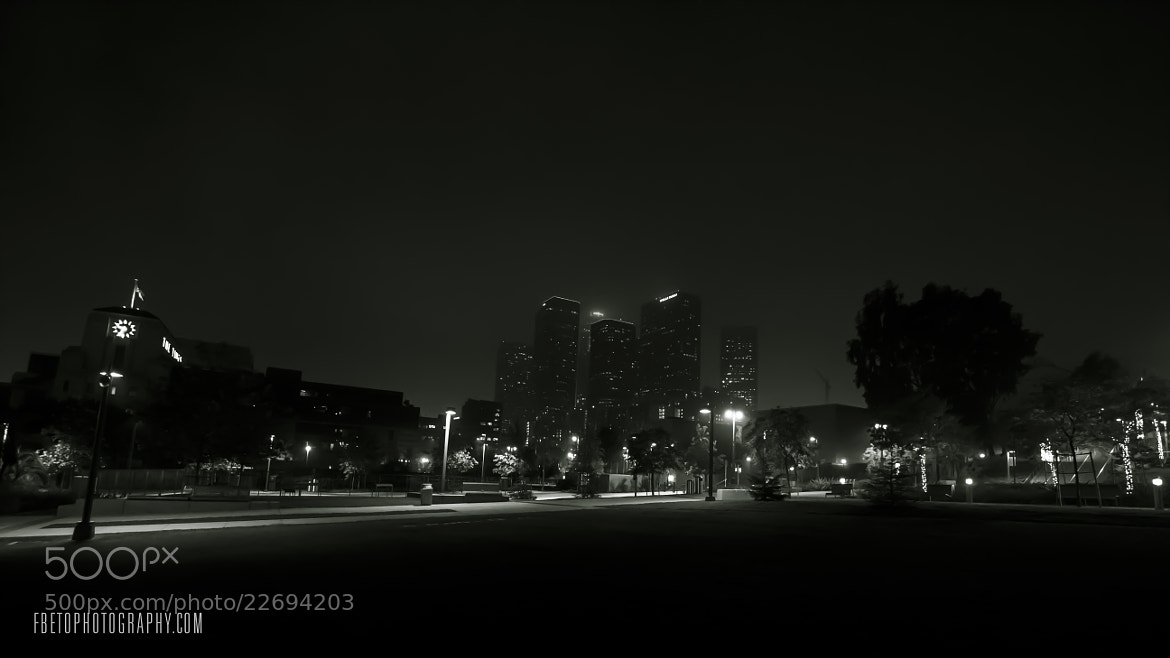 Photograph Silhouette of Los Angeles by Fernando De Oliveira on 500px