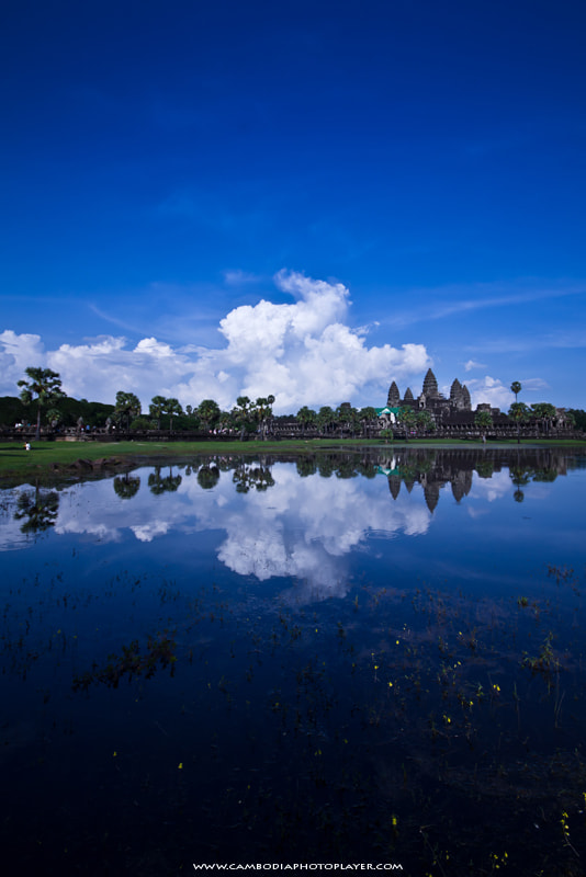 Photograph Reflection Angkor Wat! by Mardy Suong Photography on 500px
