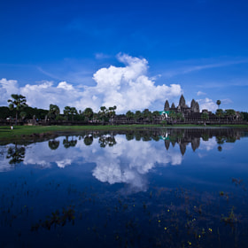 Reflection Angkor Wat! by Mardy Photography (Mardy)) on 500px.com