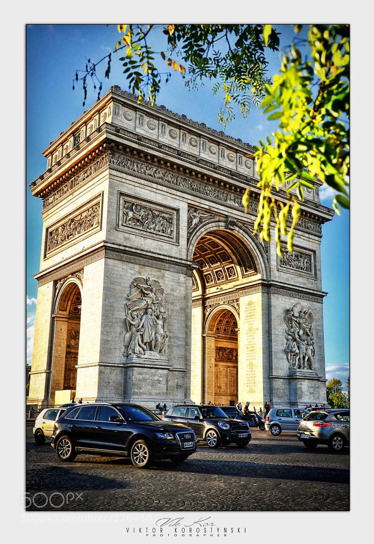 Photograph Place Charles de Gaulle by Viktor Korostynski on 500px