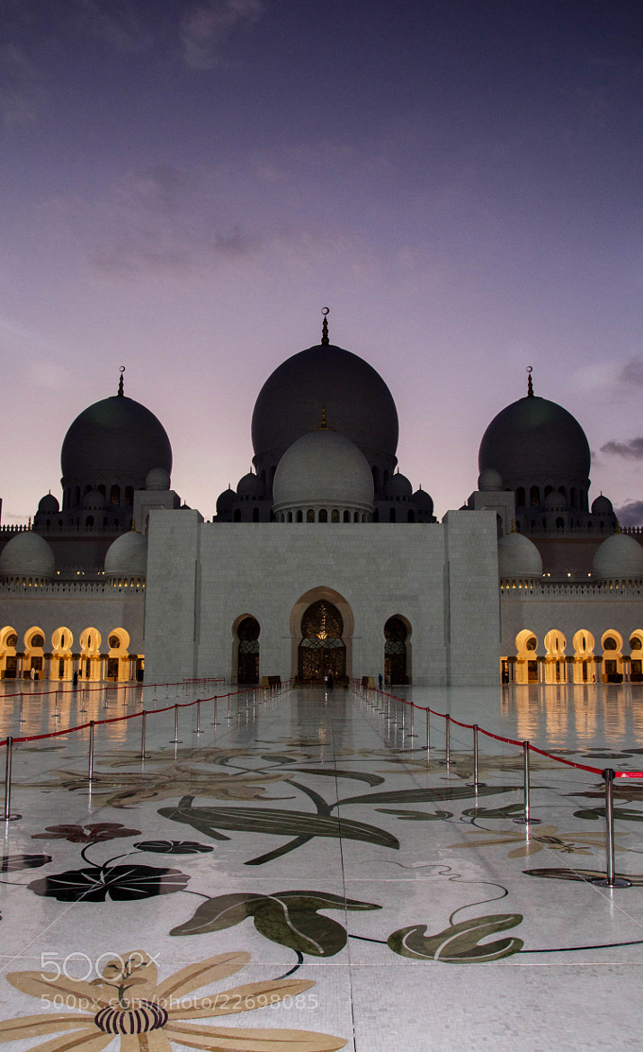 Photograph The Grand Mosque by julian john on 500px