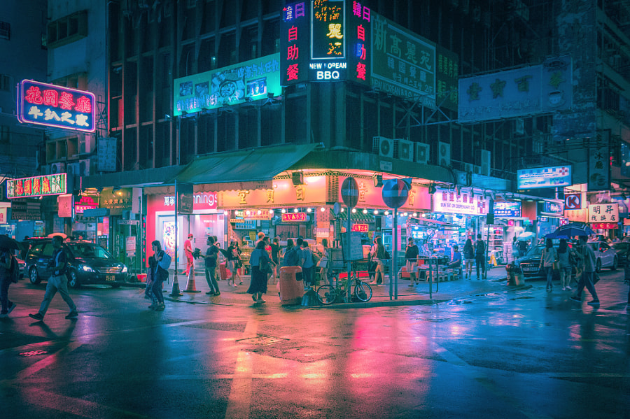 Hong Kong Night by Tone Leung on 500px.com
