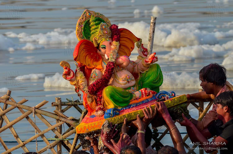 Lord Ganesh Chaturthi Festival By Anil Sharma 500px