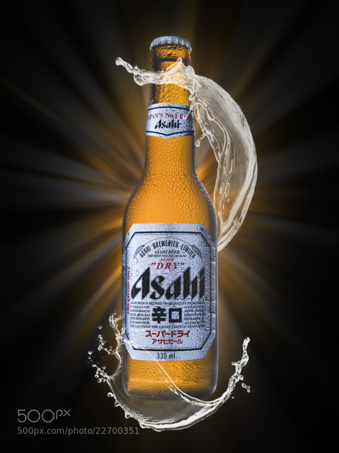 Photograph Asahi Beer by Neil Harsant on 500px