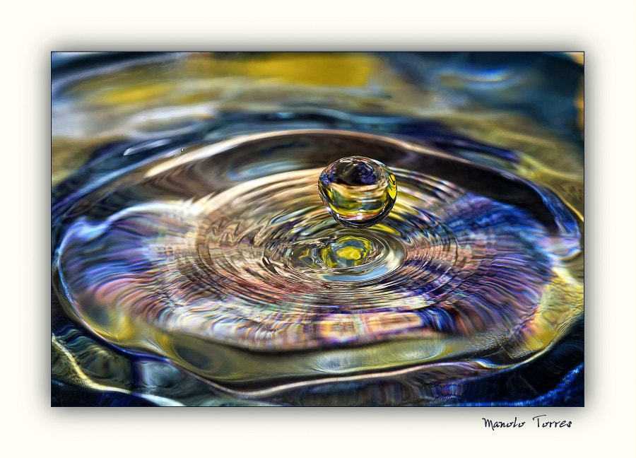 Photograph Multicolor drop by Manolo Torres on 500px