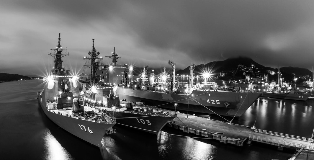Photograph Japan Maritime Self Defense Force by Tim Grey on 500px