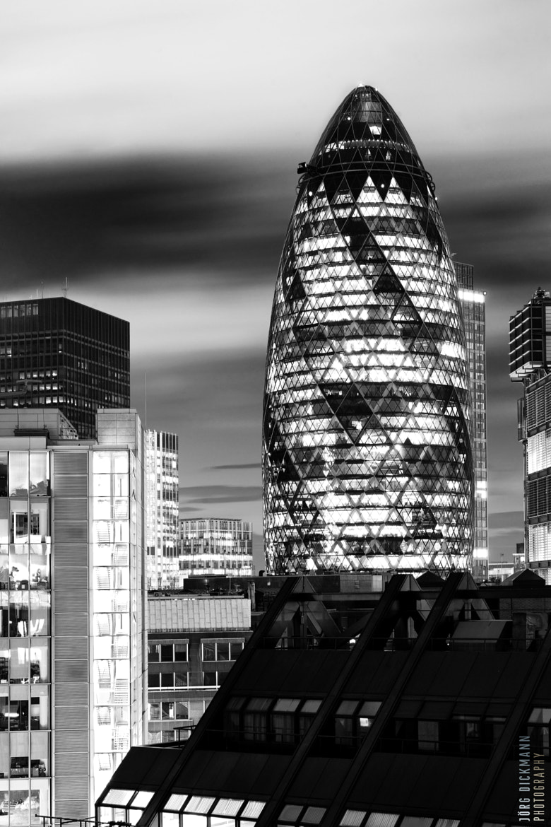 Photograph The Gherkin by Jörg Dickmann Photography on 500px