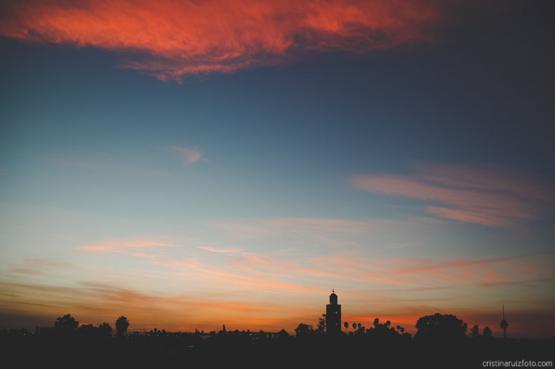 Photograph Sunset in Marrakech by Cristina Ruiz on 500px