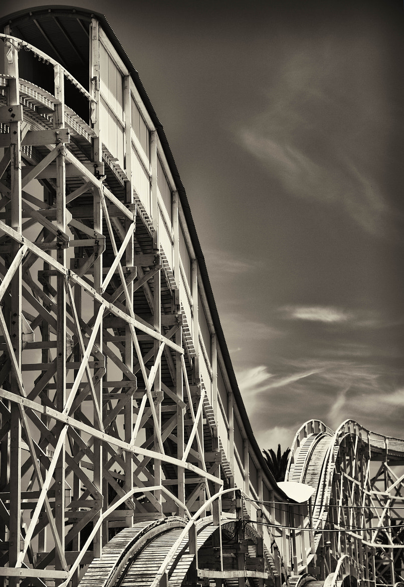 Photograph 1960 Roller Coaster by Ashley Sowter on 500px
