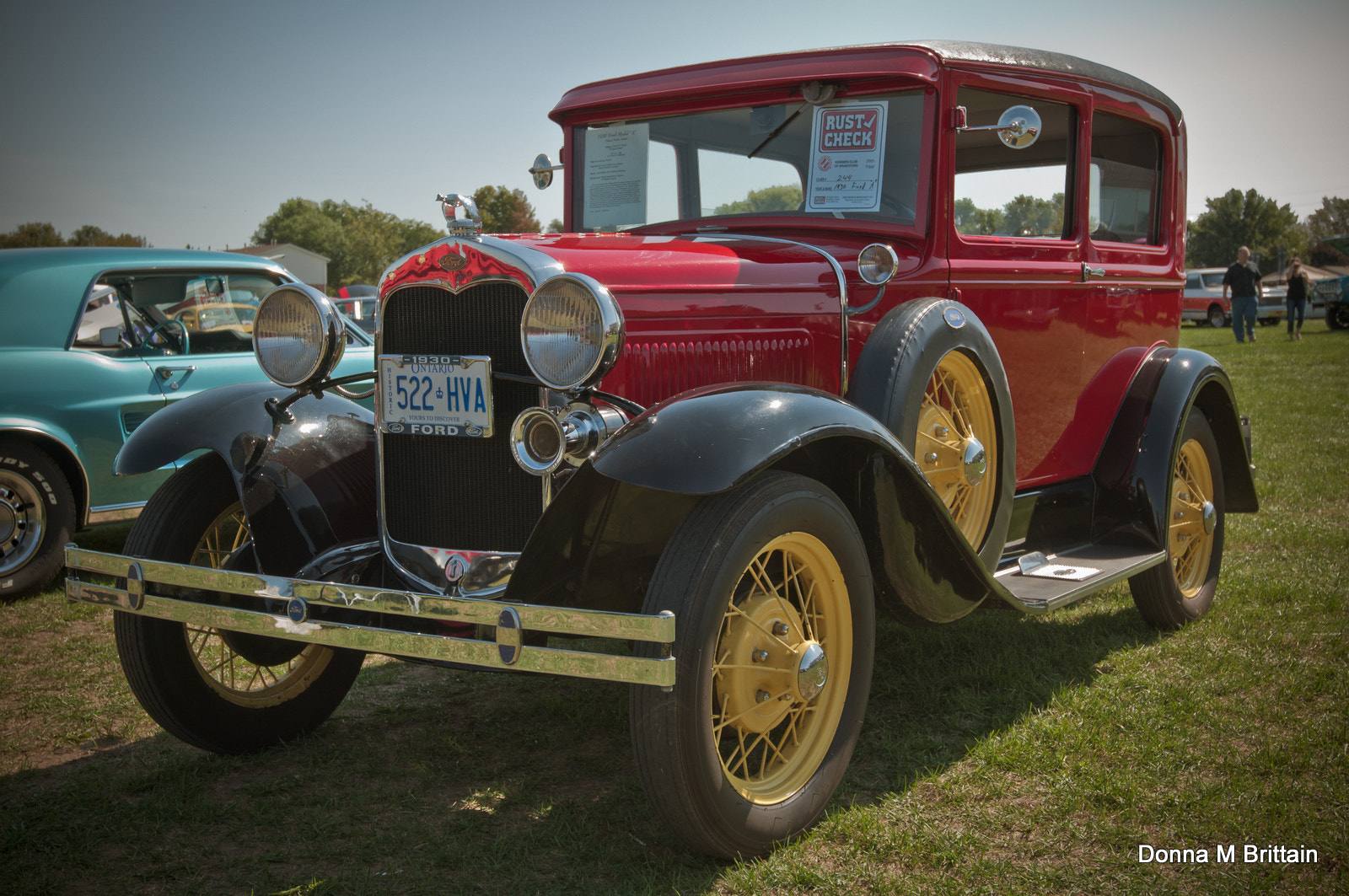 Photograph 1930 Ford - see licence plate  by Donna Brittain on 500px