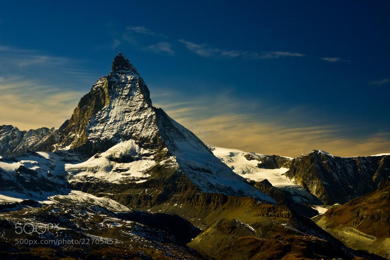 Photograph Matterhorn by Yoh SM on 500px
