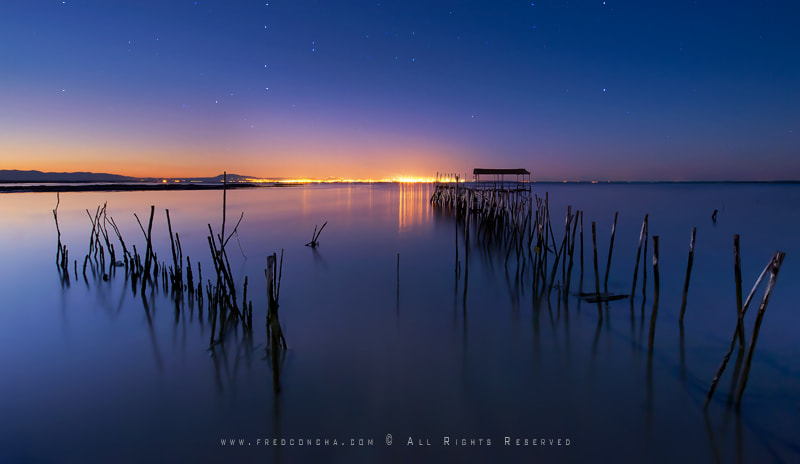 Photograph Carrasqueira lights by Fred Concha on 500px