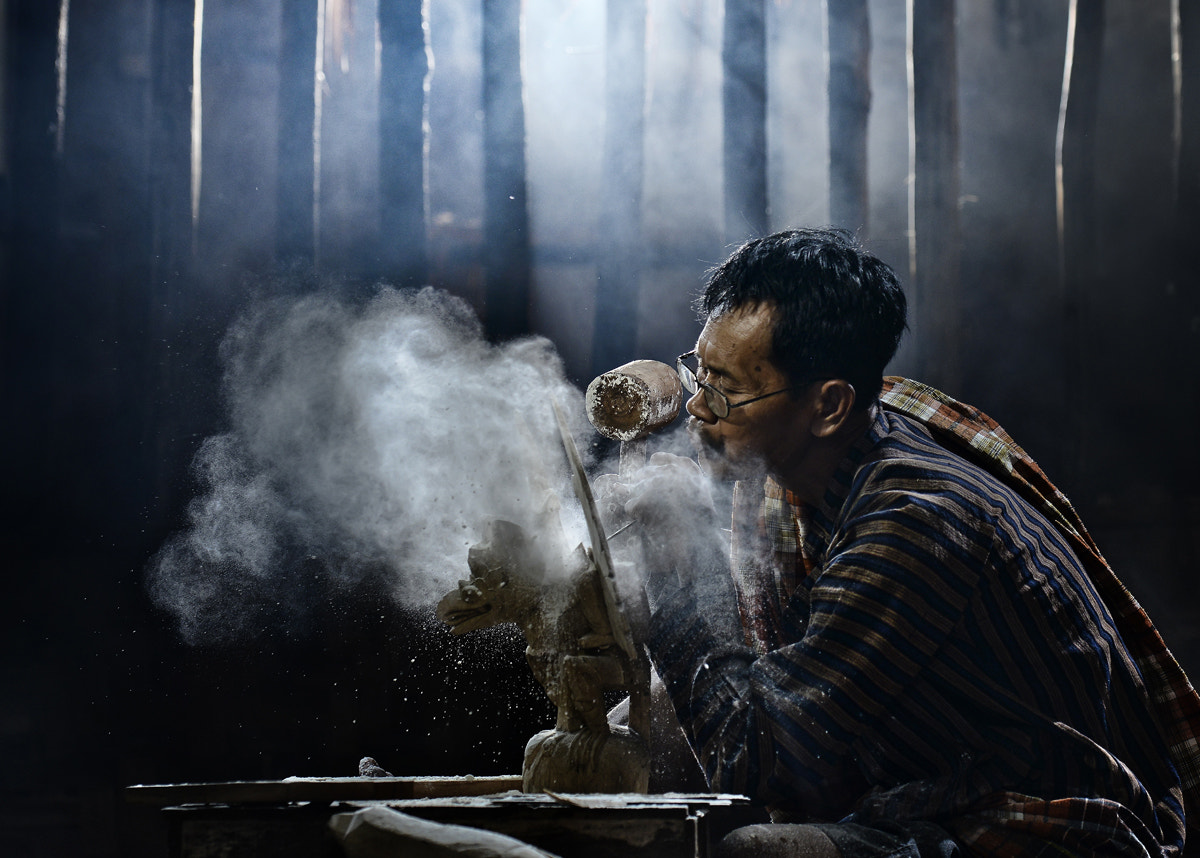 Photograph Blowing by Pimpin Nagawan on 500px