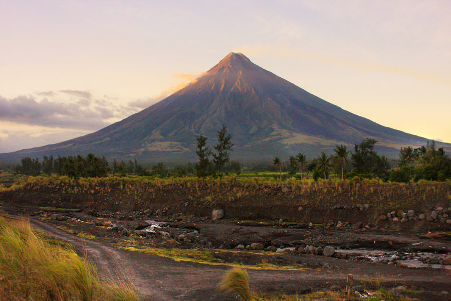 Photograph Majestic Mayon Volcano by Junel Mujar on 500px