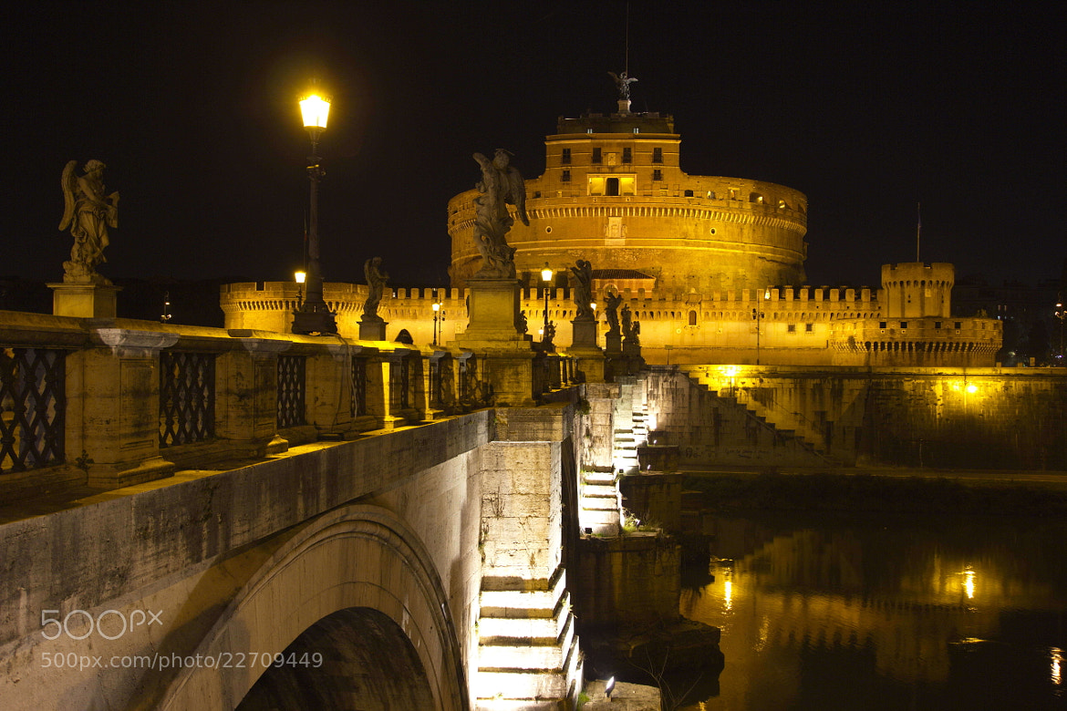 Photograph Castel Sant'Angelo I by Alexander Glass on 500px
