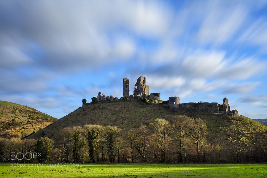 Photograph Corfe Castle,Dorset by Helminadia Ranford on 500px