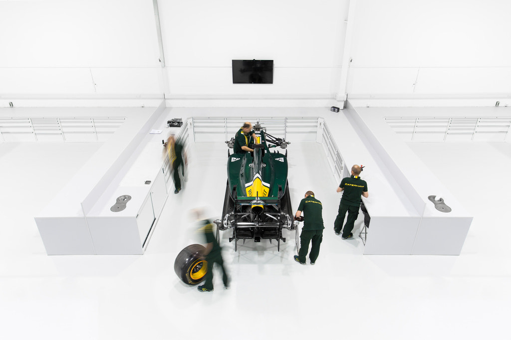 Photograph Caterham F1 Team Factory by Richard Pardon on 500px