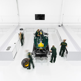 Caterham F1 Team Factory by Richard Pardon (richardpardon)) on 500px.com