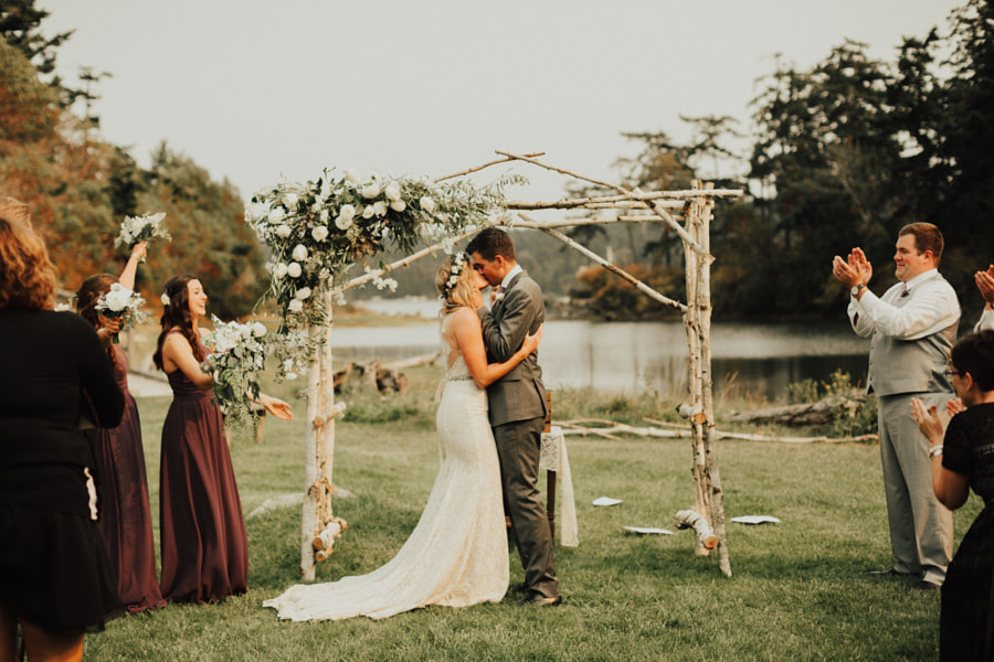 Backyard wedding on Whidbey Island a few weeks ago by Berty Mandagie on 500px.com