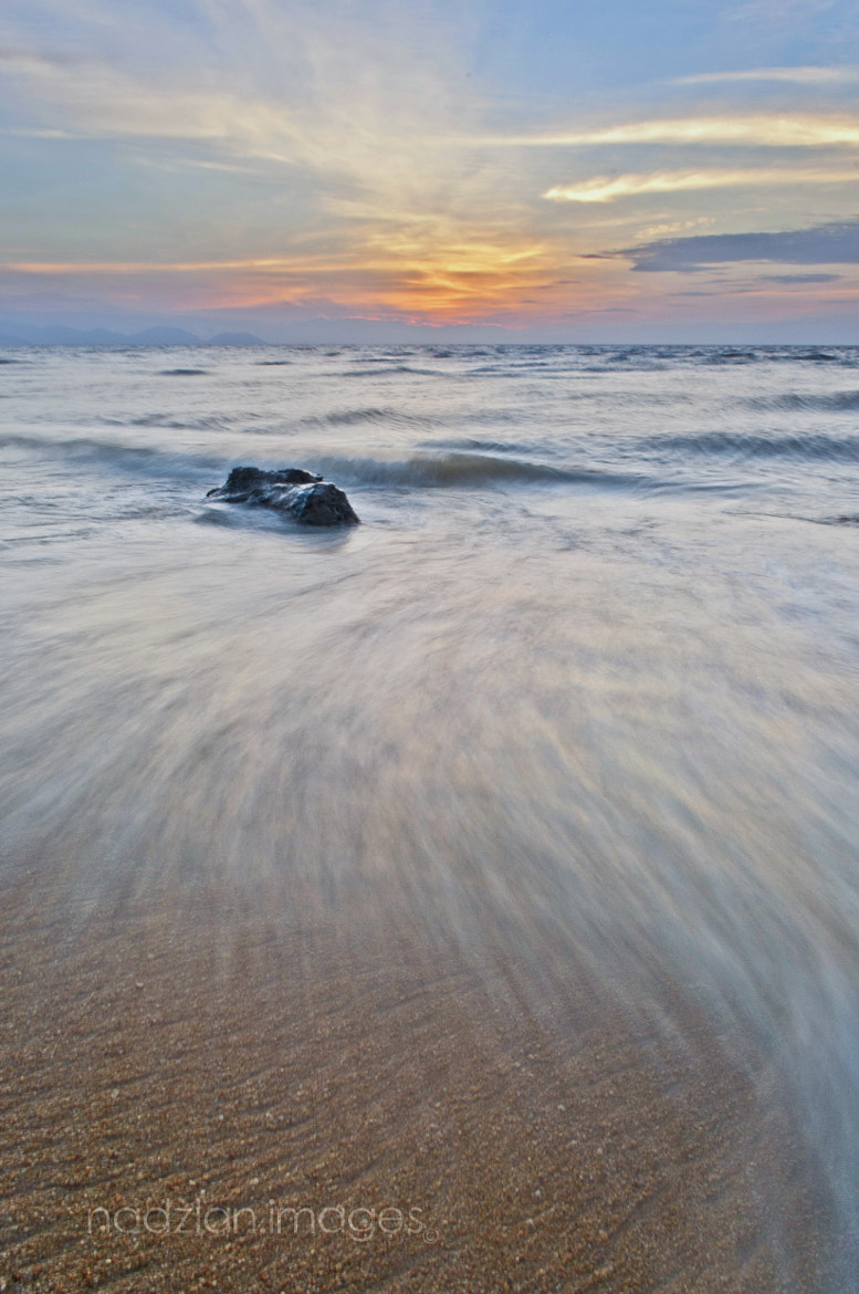 Photograph Waves At Dusk by Nadzli Azlan on 500px