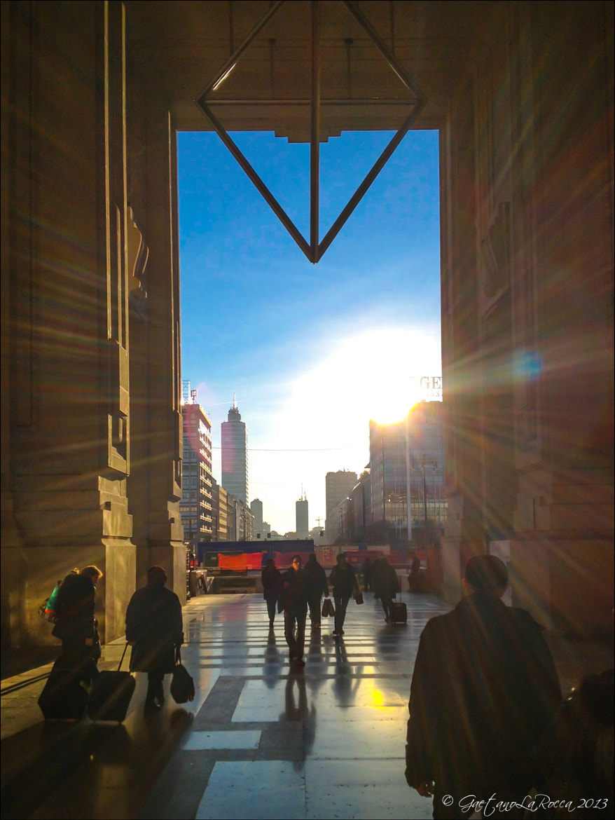 Photograph Sunset at Central Station by Gaetano La Rocca on 500px