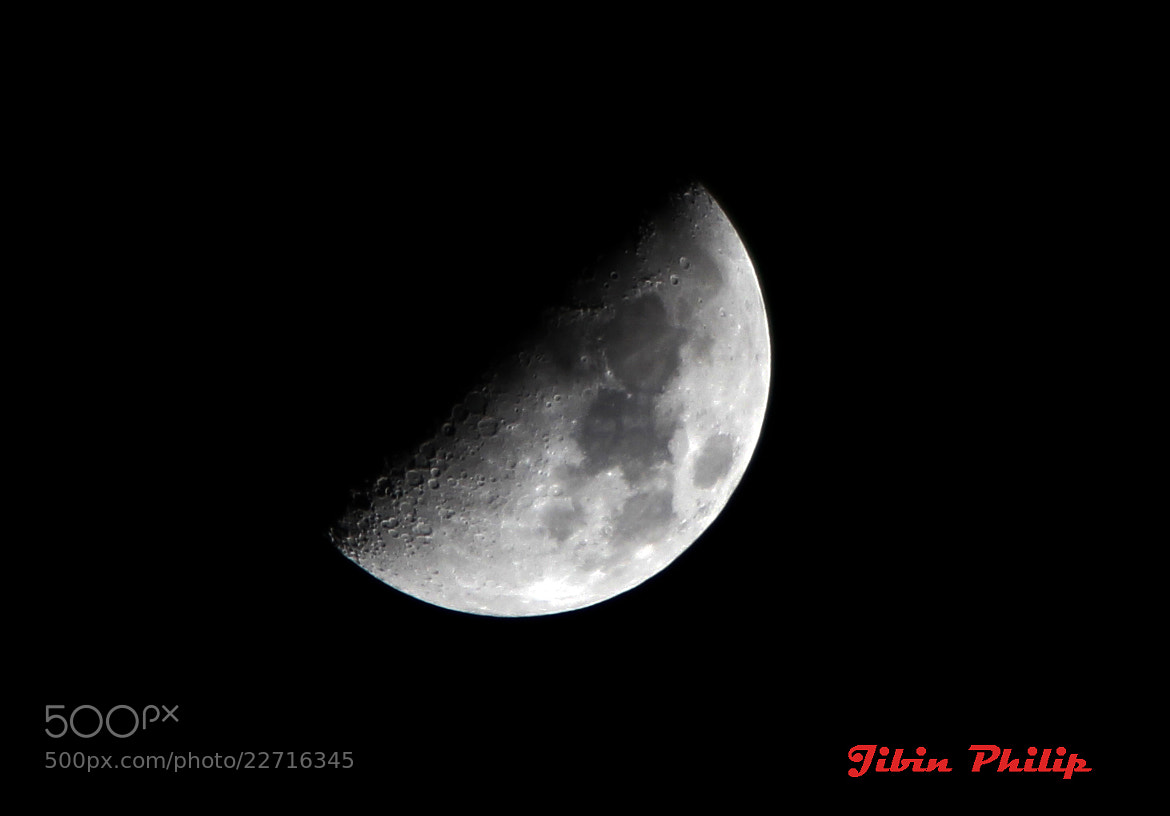 Photograph HALF MOON by JIBIN PHILIP on 500px