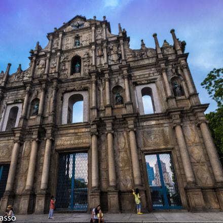 Ruins of St. Pauls, Macau