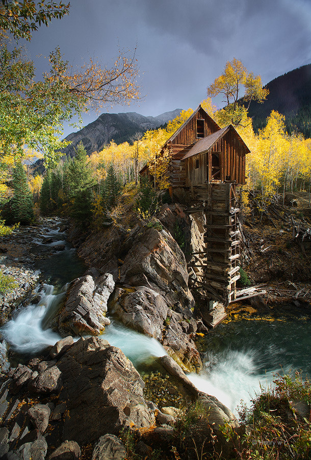 Photograph Crystal Mill by Henry Liu on 500px