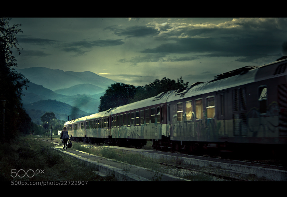 Photograph The last Train by Cristina Ramos on 500px