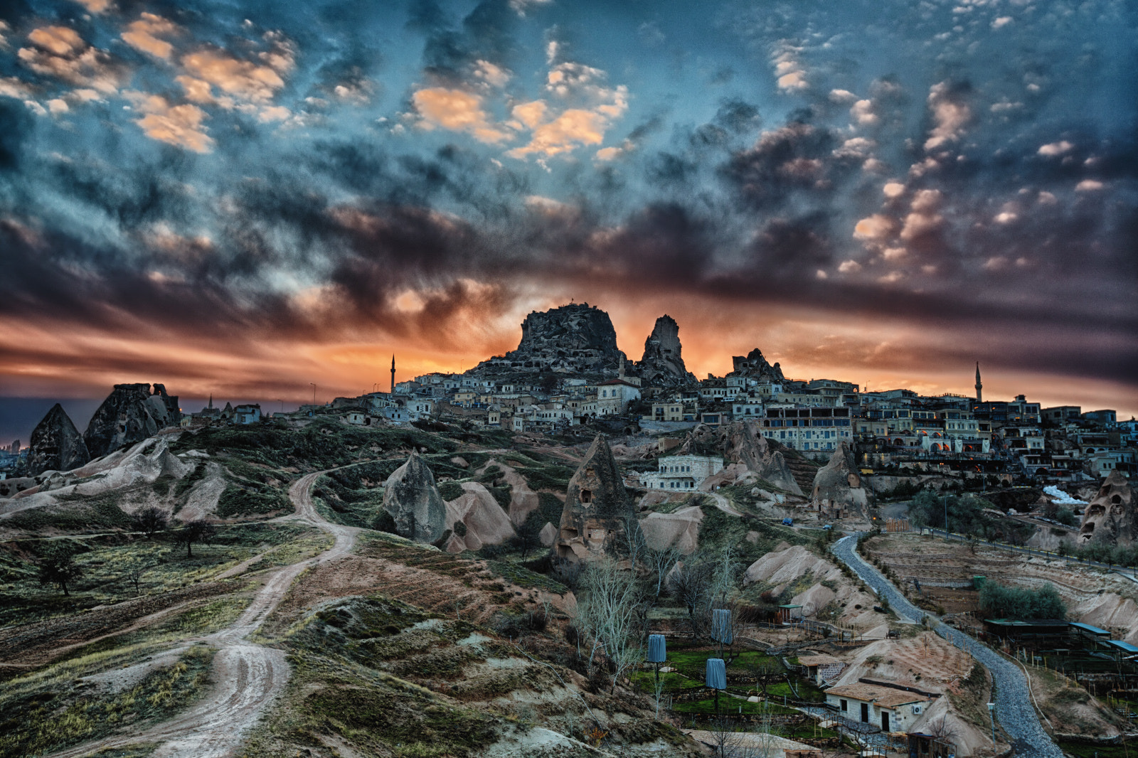 Photograph Uchisar Early Sunset by Marty Taylor on 500px