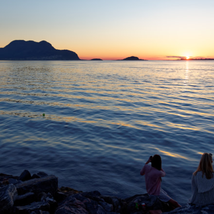 Sunset in Ålesund, Norway