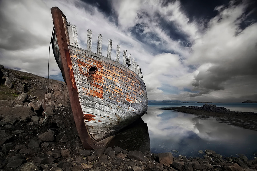 Photograph Wreck by Bragi Ingibergsson - BRIN on 500px