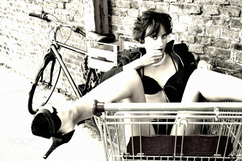 Photograph I Love Shopping 2 by Larry  Woodmann on 500px