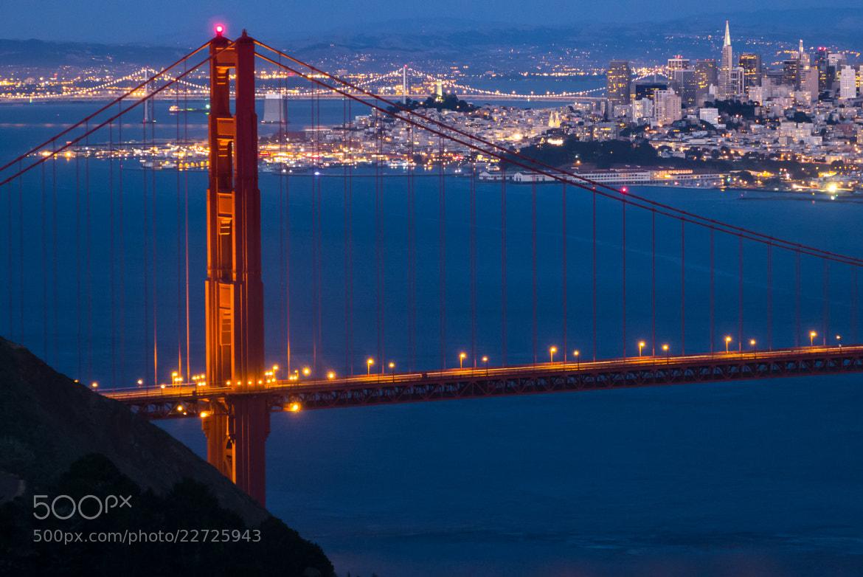 Photograph Bridge at Twilight by Tom Brichta on 500px