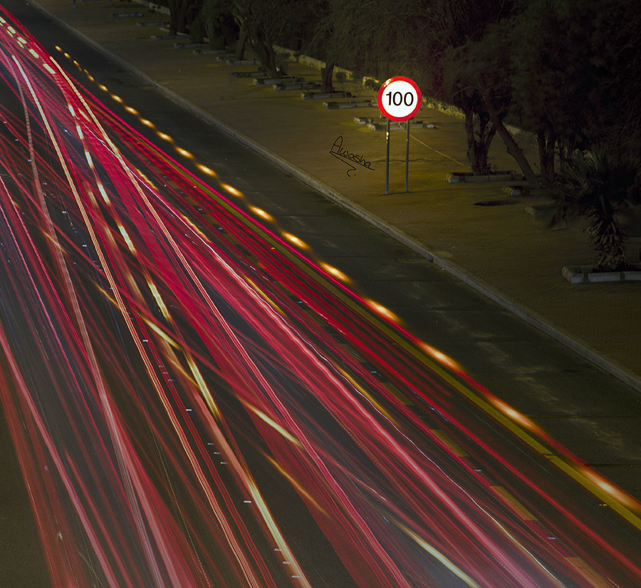 Photograph lights in the road  by Aisha Alfailichawy on 500px