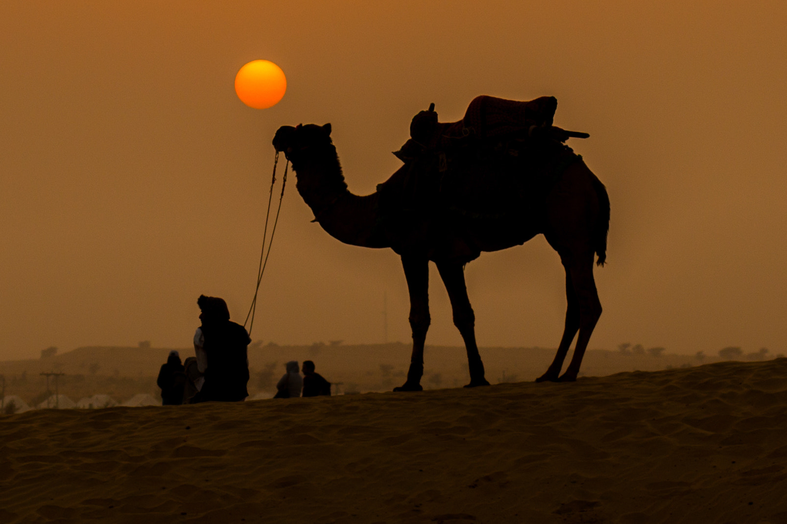 Photograph Sunset in Desert by Ayush Sharma on 500px