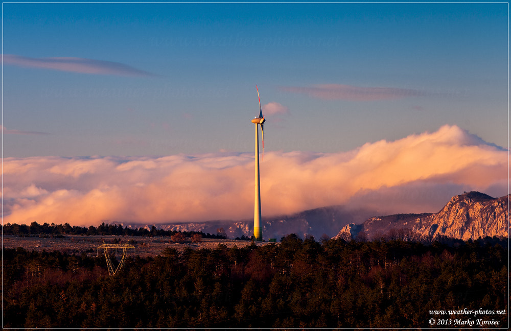 Photograph Sunset turbine by Marko Korošec on 500px