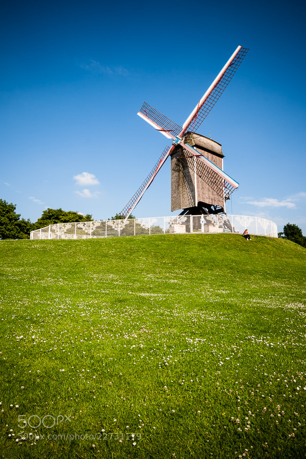 Photograph Windmill in Bruges by Jose Agudo on 500px