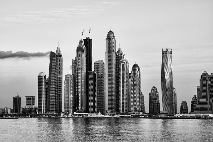 Photograph Dubai Marina by M Delawer on 500px
